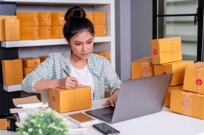 vender productos en línea